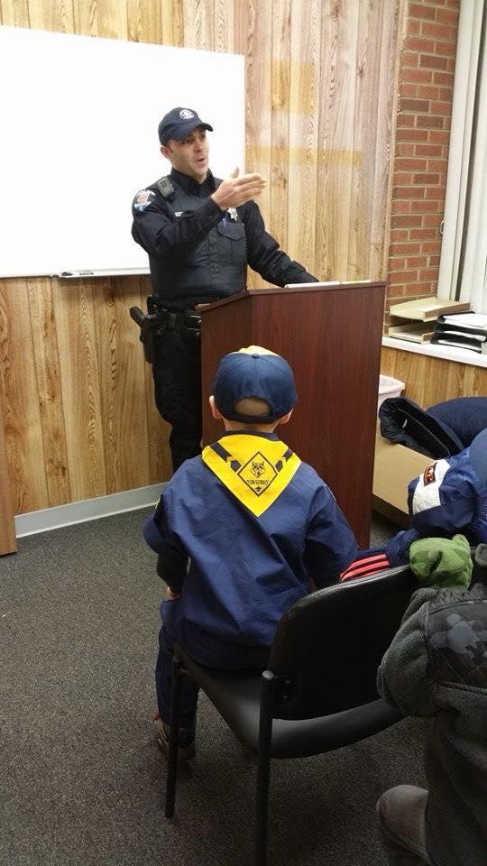 Boy Scout Meeting